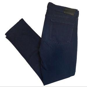 "PAIGE ""Lennox"" Dark Wash Designer Denim Jeans"